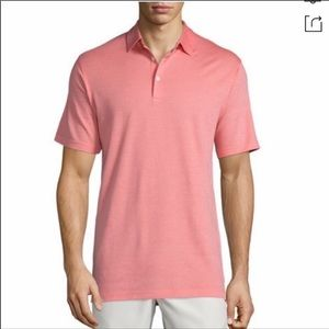 [Peter Millar] Coral Golf Polo Shirt Size Medium